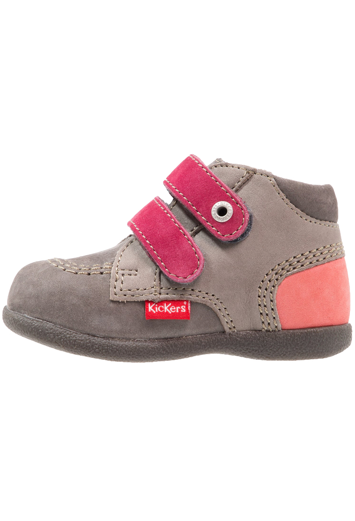 Babyscratch Kickers gris/rose
