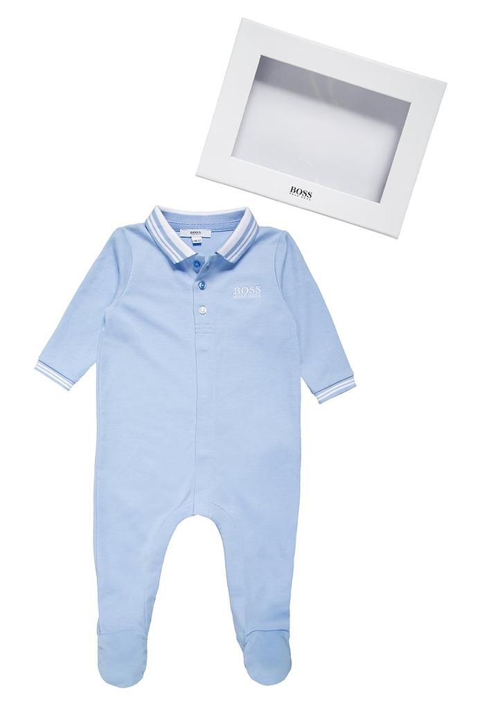 Coffret naissance : body bleu ciel Hugo Boss