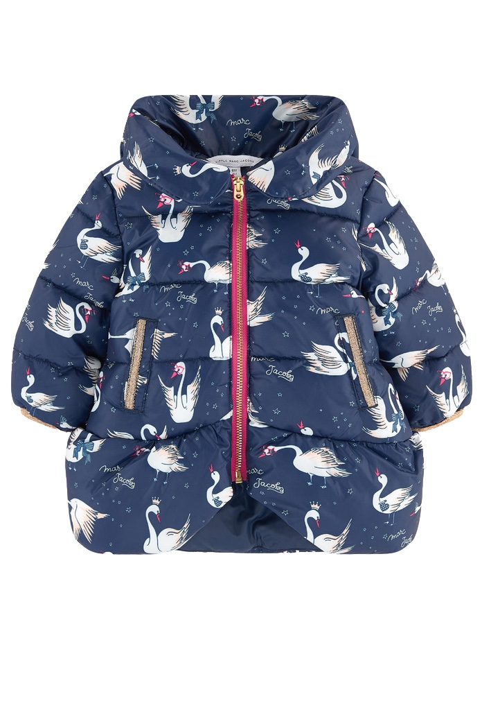 Doudoune Cygne Little Marc Jacobs