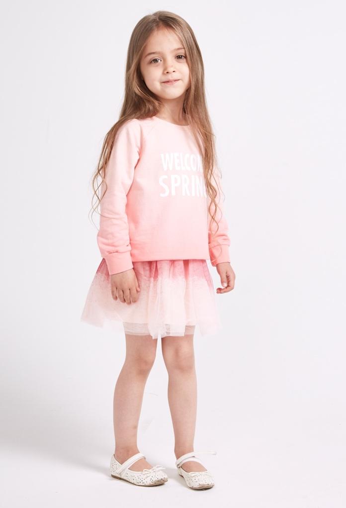 jupe courte rose en tulle pour enfant kid canaille. Black Bedroom Furniture Sets. Home Design Ideas