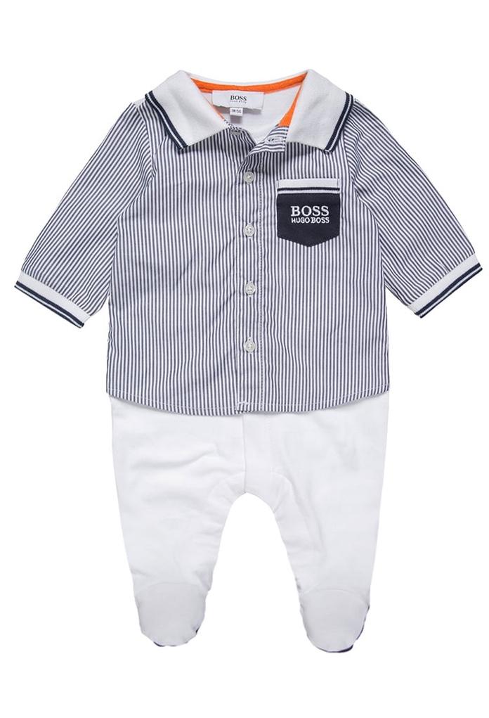 Pyjama blanc marin Hugo Boss