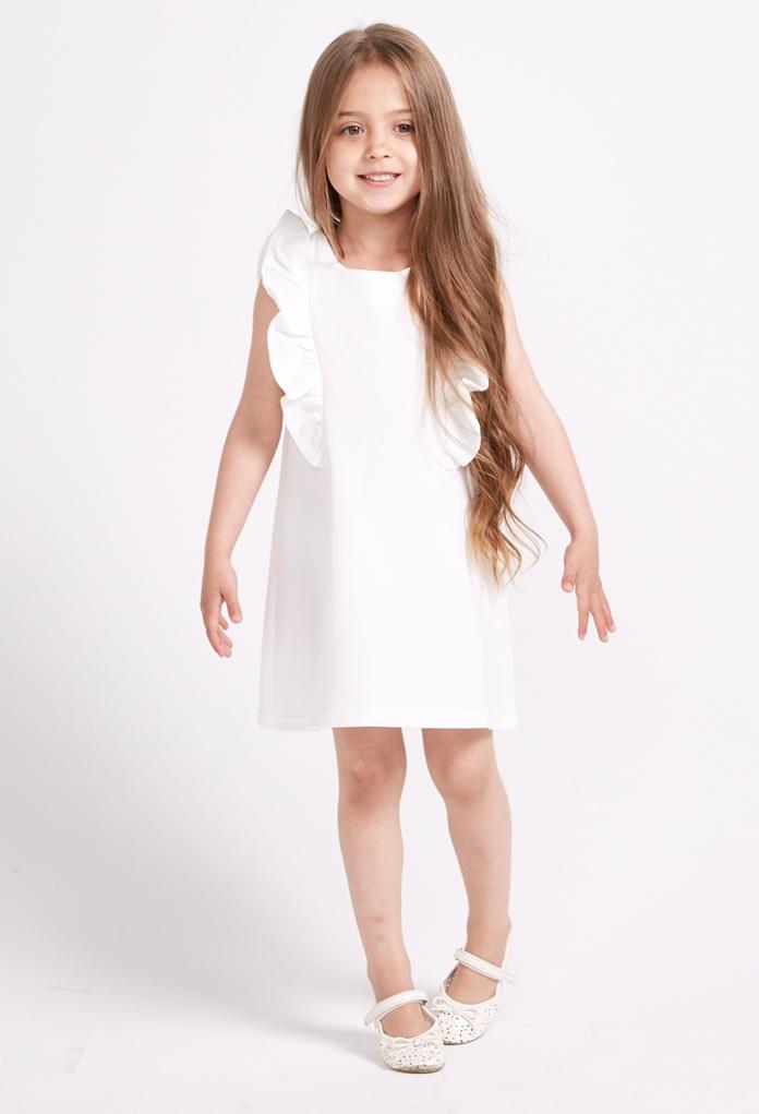 Robe d'été blanche Angel