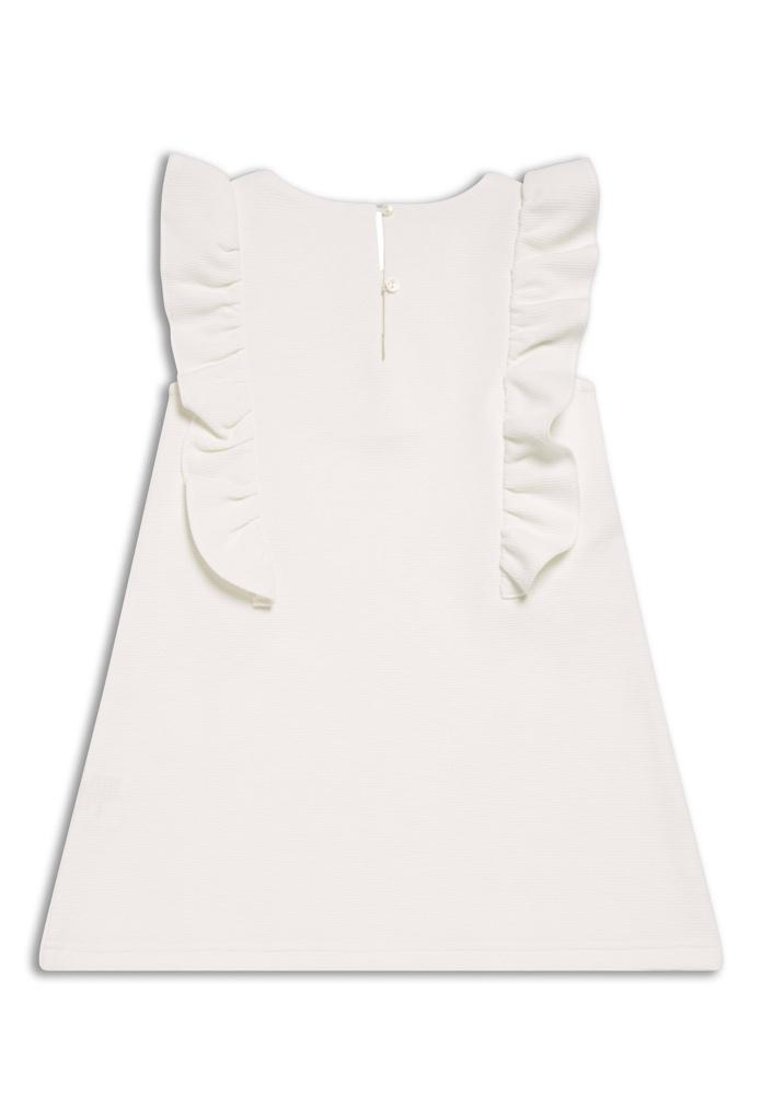 robe d 39 t blanche angel pour enfant kid canaille. Black Bedroom Furniture Sets. Home Design Ideas
