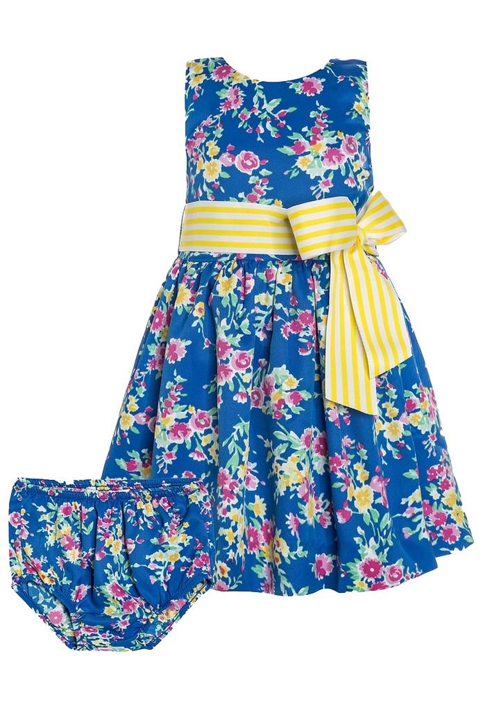 robe d 39 t multicolore b b de la marque ralph lauren. Black Bedroom Furniture Sets. Home Design Ideas