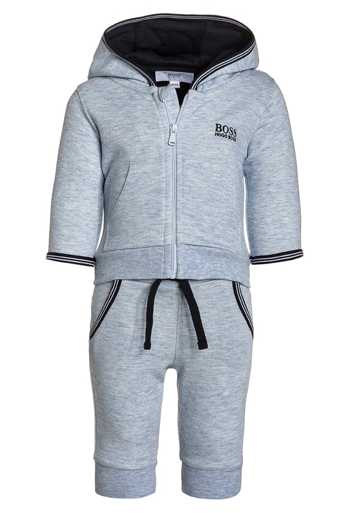 Set jogging gris chiné Hugo Boss