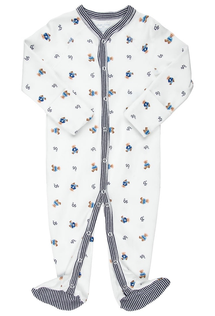Pyjama blanc imprimé  Ralph Lauren