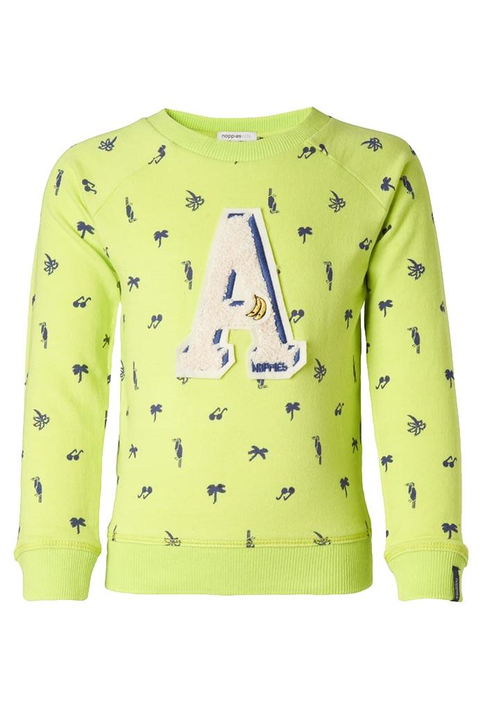 Sweatshirt Ferndale jaune