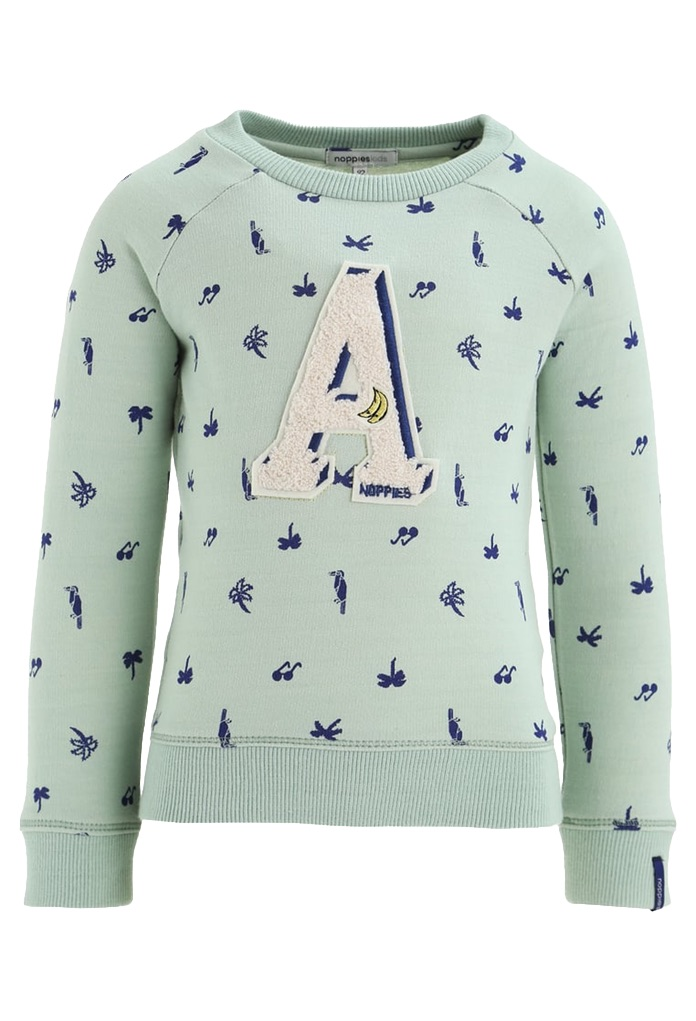 Sweatshirt Ferndale vert