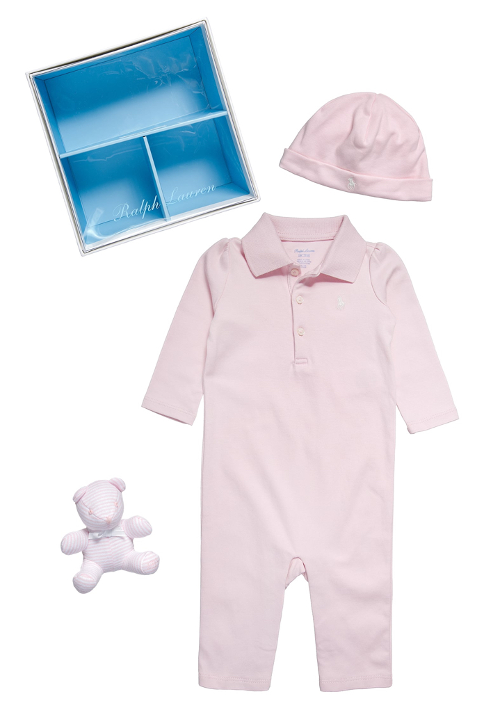 Coffret pyjama rose Coveral Ralph Lauren