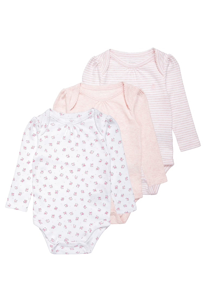 Pack : 3 bodies beige rosé Gap