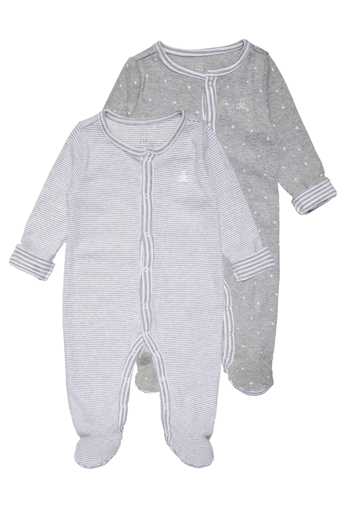 Pack : 2 pyjamas gris nuancés Gap