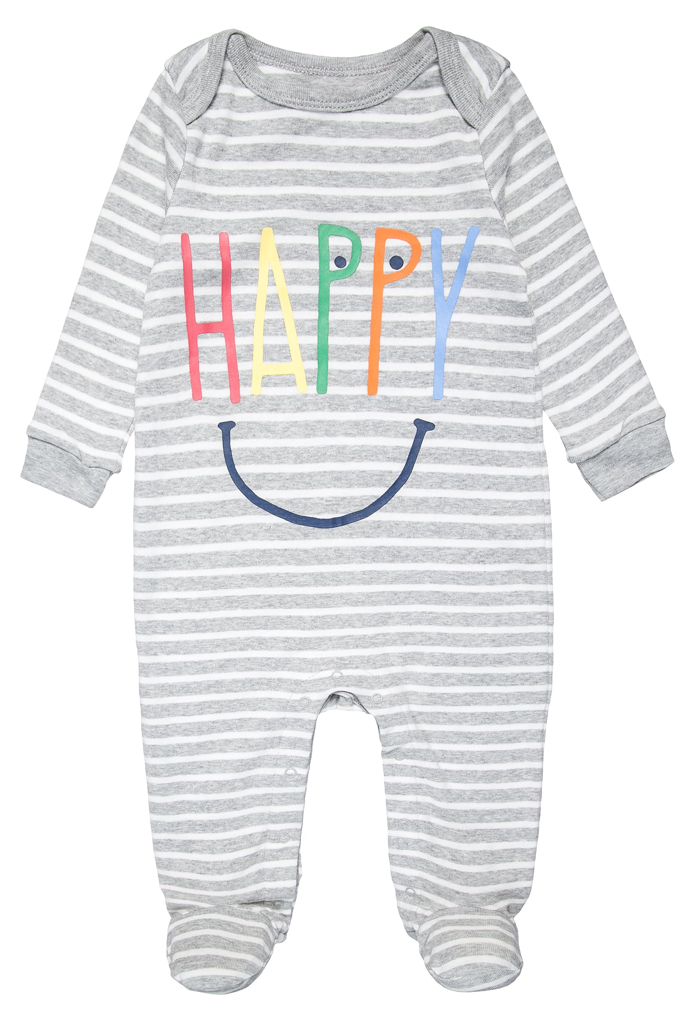 Pyjama Happy gris Gap