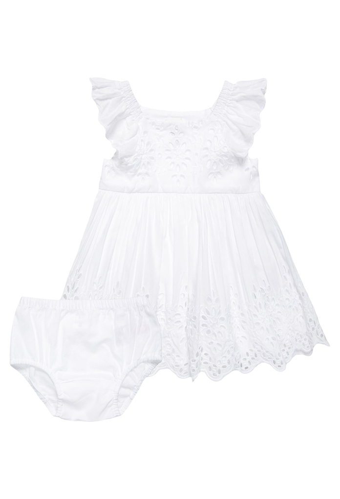 Set : Robe de soirée en dentelle blanche Gap