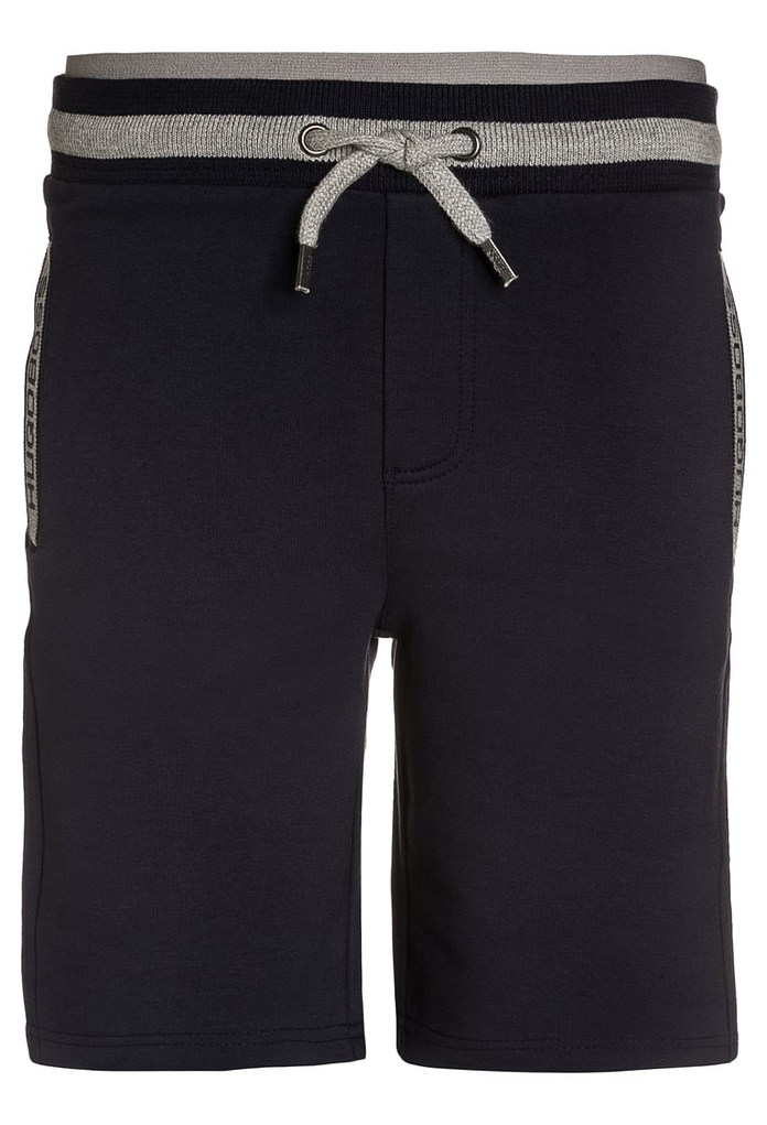 Short long en sweat noir Hugo Boss