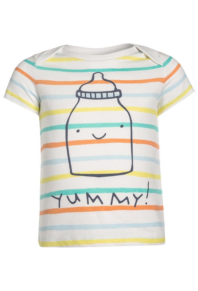 T-Shirt multicolore Yummy