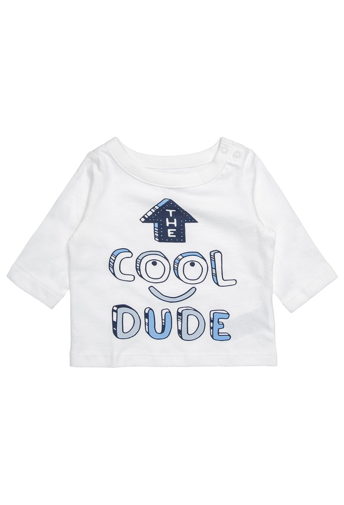 T-Shirt blanc The Cool Dude