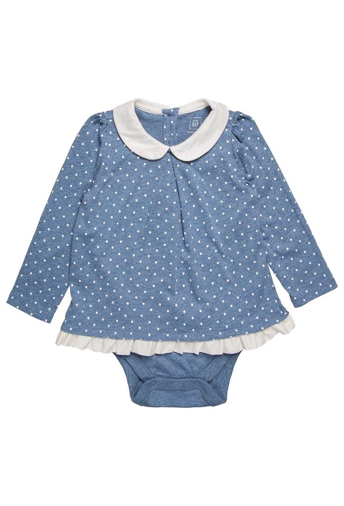 T-Shirt Baby Blue Heather Gap