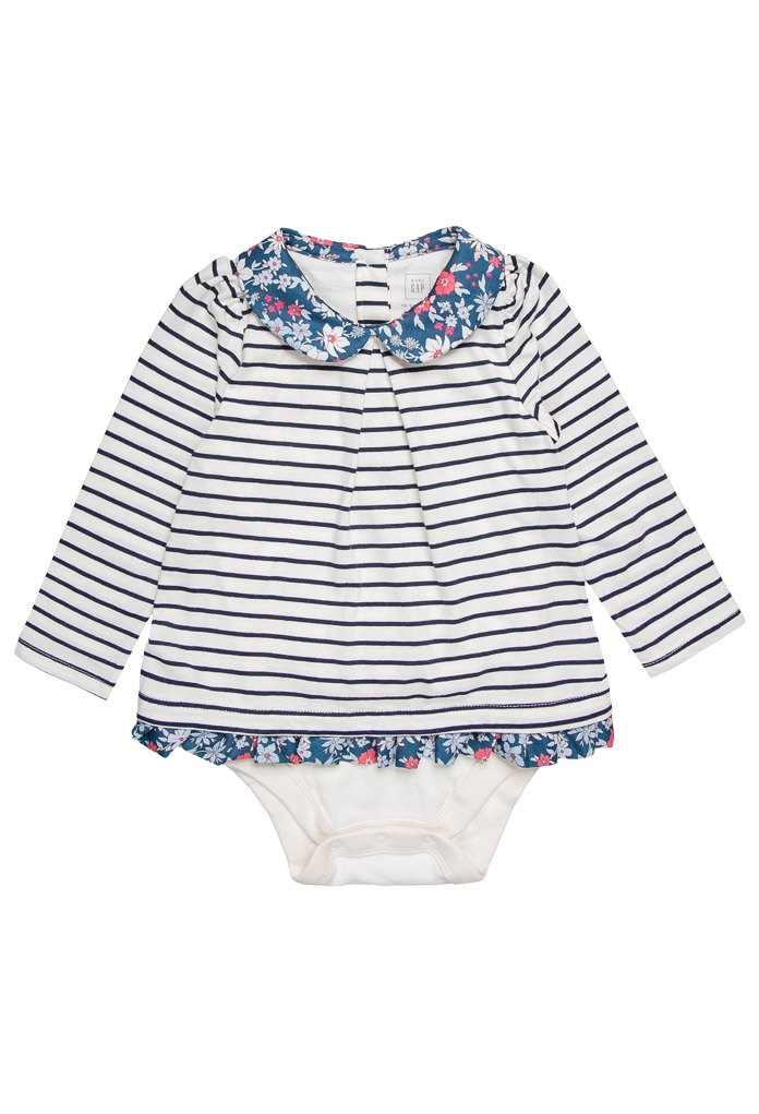 T-Shirt Baby Ivory Frost Gap