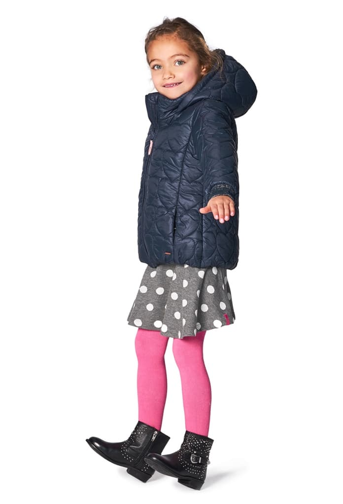 manteau d 39 hiver bleu capuche hewitt pour enfant de la marque noppies. Black Bedroom Furniture Sets. Home Design Ideas