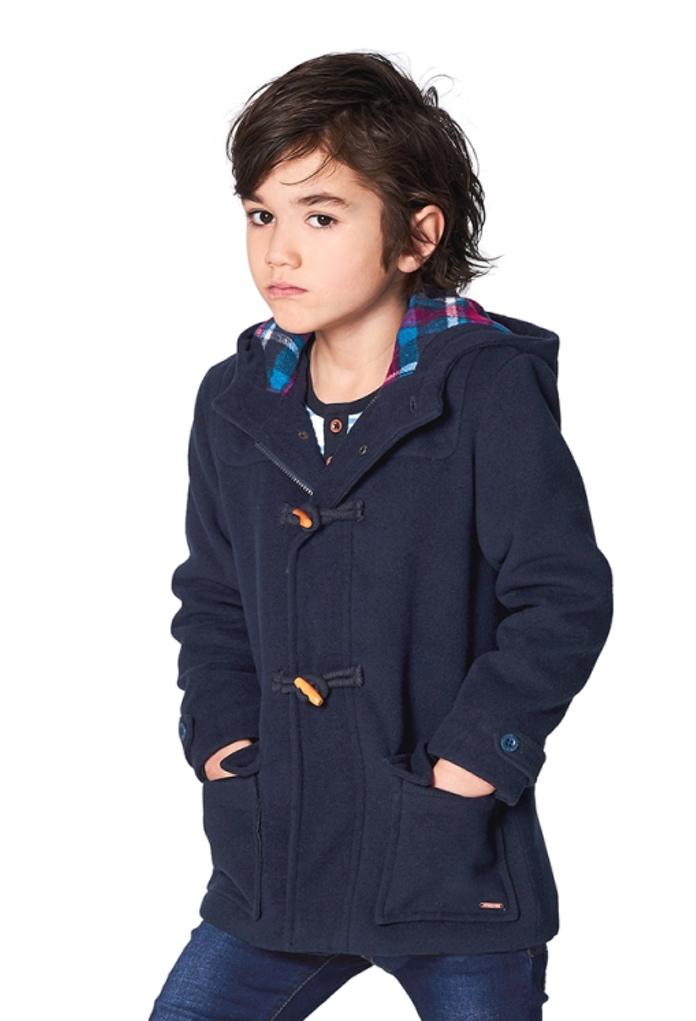 Manteau d'hiver caban bleu Hilliard