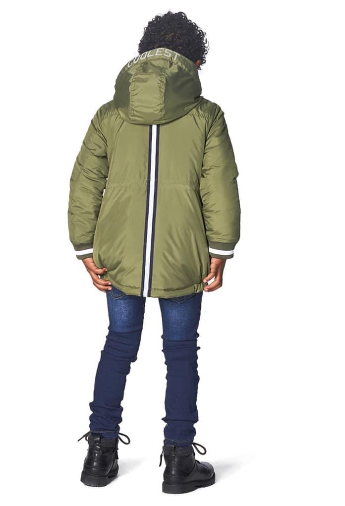 26a1c23a496a4 Manteau d hiver kaki à capuche Haverhill pour enfant de la marque ...