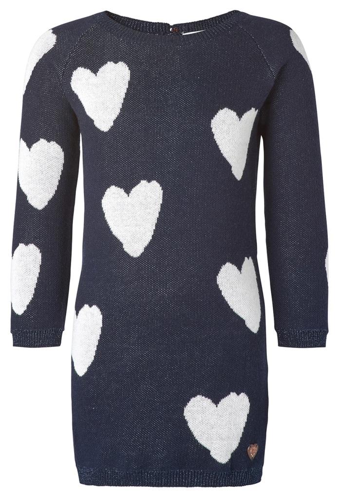 Robe tricot à cœurs BB Garland