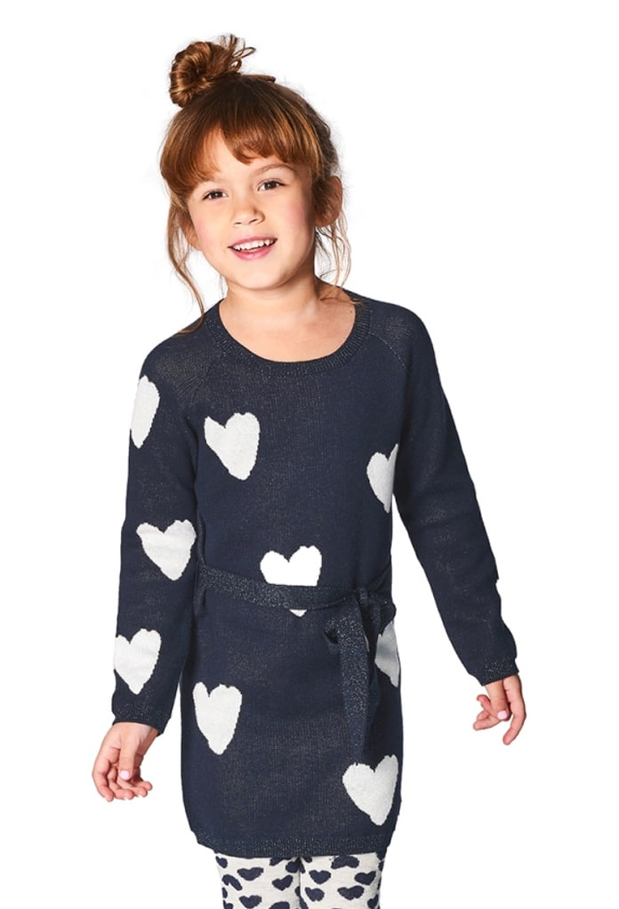 Robe tricot à cœurs Garland