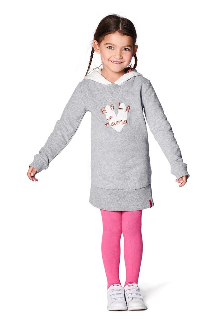 robe grise sweat capuche hurricane pour enfant de la marque noppies. Black Bedroom Furniture Sets. Home Design Ideas