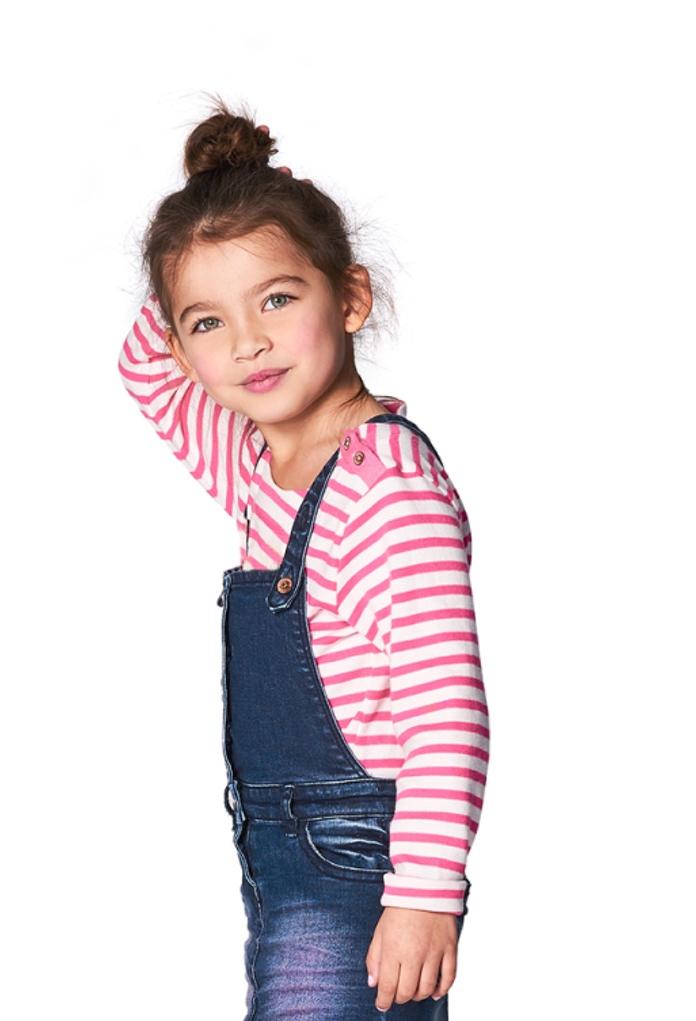 T-Shirt rayé rose Havre