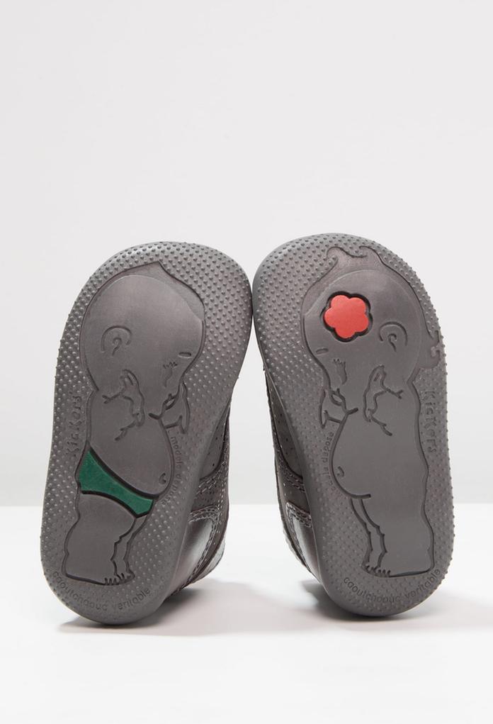 Chaussures Premiers Bébé De Kickers Pour La Bonbon Gris Pas Marque qzSpGVUM