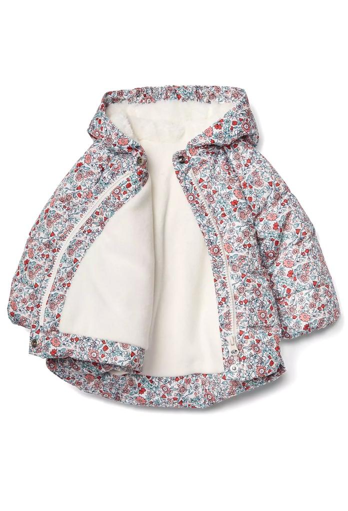Doudoune Bébé De La Kimono À Manteau Gap Marque Pour Fleuri Capuche dCwnPI 98c80244cf9