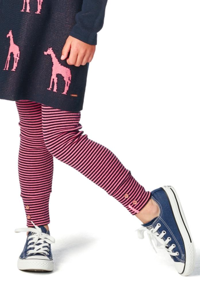 Legging rayé rose Delaire