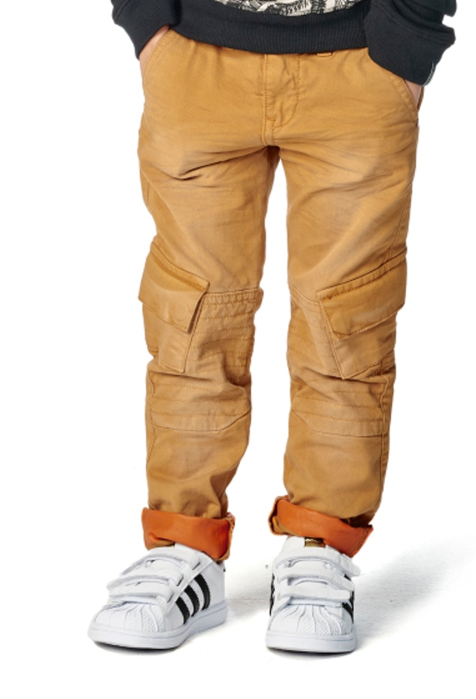 Pantalon slim fit camel Dundalk