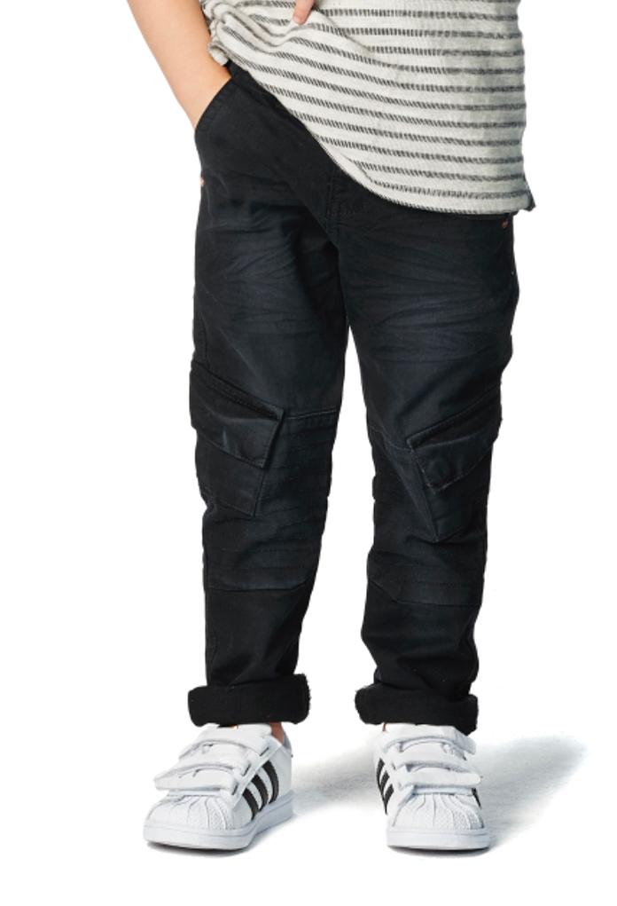 Pantalon slim fit noir Dundalk