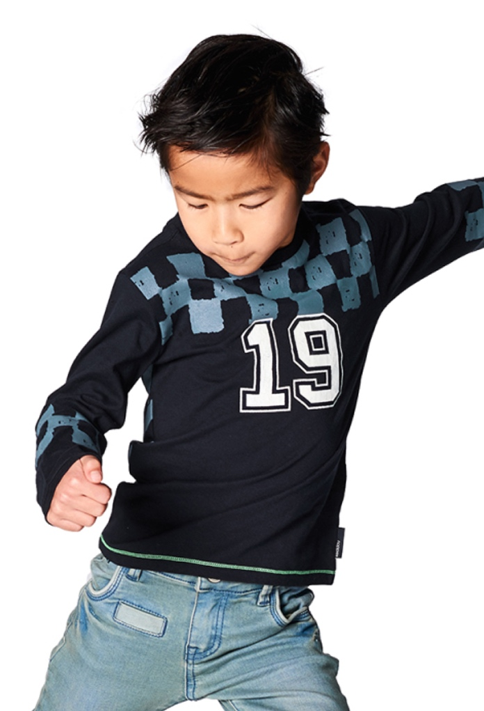 T-Shirt bleu Hanford