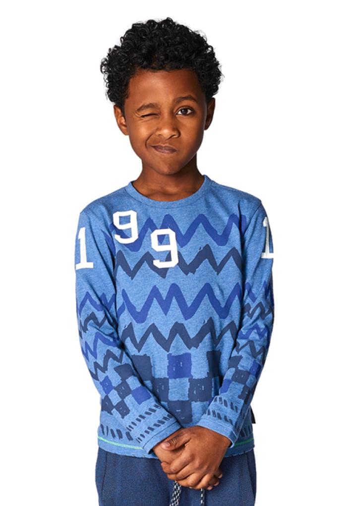 T-Shirt bleu Hartsville