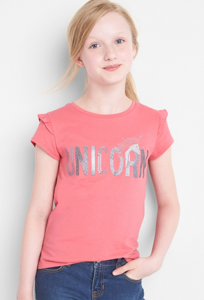 T-shirt pêche Unicorn