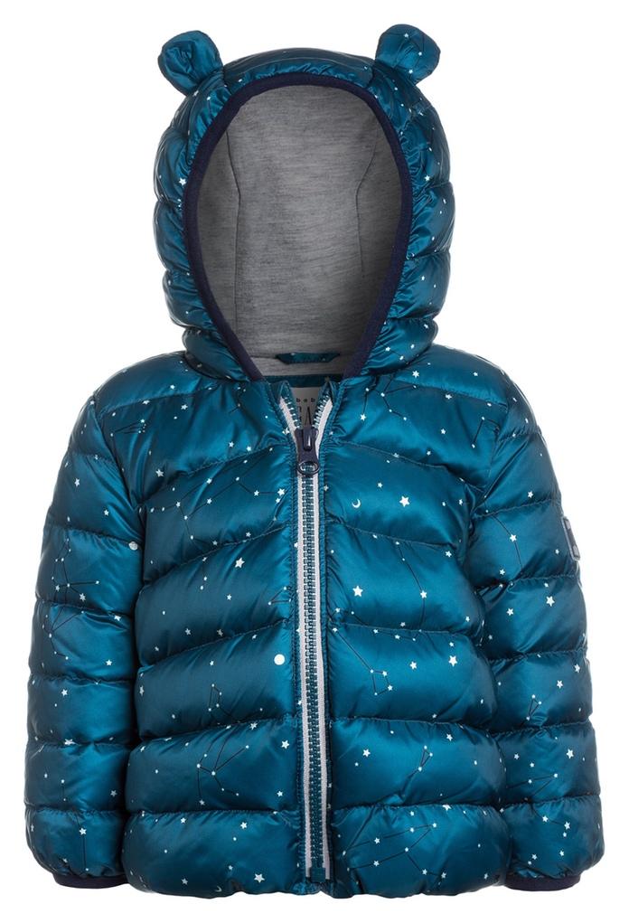 Doudoune bleue Polar