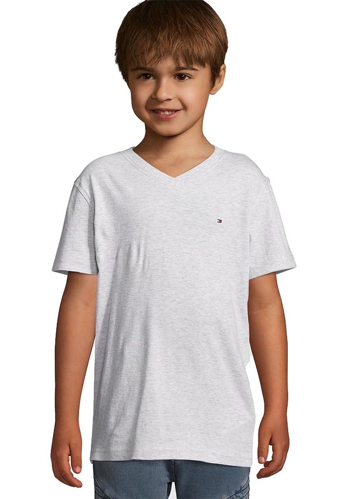 T-Shirt gris Tommy Hilfiger